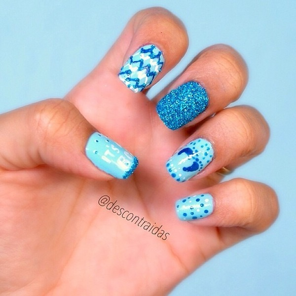 Baby Boy Nails Camila O S Descontraidas Photo Beautylish