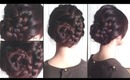 Braided Dragon Tail Updo