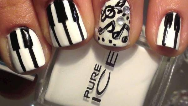 Piano Keys Manicure Marlene O Video Beautylish