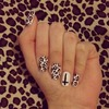 hot cheetah nails :)