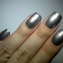 31 Day Challenge - Metallic Nails - 08. DAY