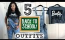 5 Outfits for Back to School under $10! | OOTW 2015 LOOKBOOK!