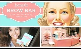 Benefit Brow Bar (Review, First Impression, Experience & Info) ULTA