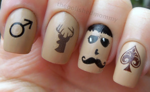 http://www.thepolishedmommy.com/2012/11/manly-movember-mani.html