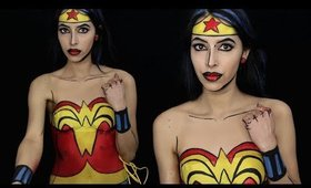 Wonder Woman Makeup Tutorial
