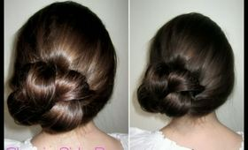 How To: Classic Side Bun