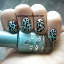 Mint And Gold Leopard