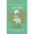 Que Bella Relaxing Lavender Aromatherapy Mask