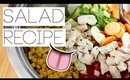The Best Salad Recipe EVER I AlyAesch
