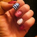 4th of July inspire nails