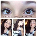 Gothic Doll Makeup
