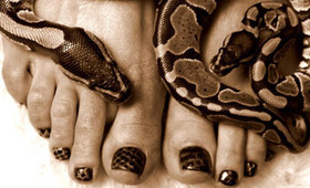 Would You Pay $300 For Snakeskin Nails?