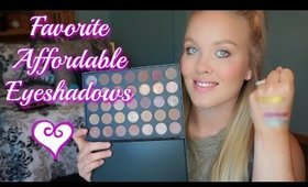 Drugstore Eyeshadow Favorites