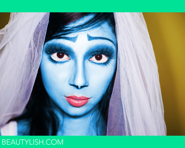 Corpse Bride Makeup Pictures : Inspired by Tim Burtons Corpse Bride Orissa M.s Photo ...