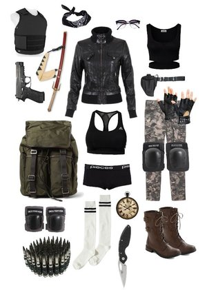 The gallery for --u0026gt; Zombie Apocalypse Outfit Men