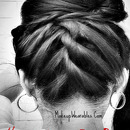 ROPE Upside Down Braided Bun | Upside Down Braided Sock Bun Hair Tutorial for Medium Long Hair
