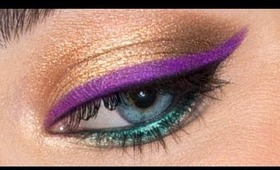 How to Wear BRIGHT Eyeliner!