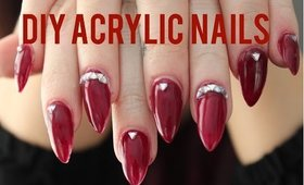 DIY Acrylic Nail Fill & Gel Nails
