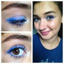 Mufe ultra HD and a blue-purple eye!