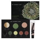 By Lauren Luke My Luscious Greens and My Glossy Lips Complete Makeup Palette for Eyes, Cheeks and Lips