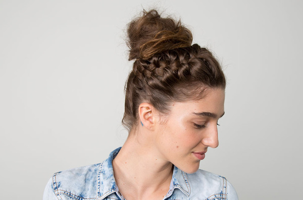 Try This Five-Minute Beach-to-Party Summer Updo Now!