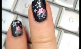 Cupcake Nails w/ xSparkage