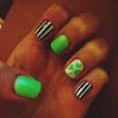 St Patricks Day Nails!