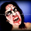 The Walking Dead Zombie Makeup Tutorial Halloween 2012