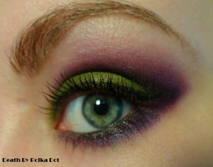 A slightly toned down Maleficent inspired look
