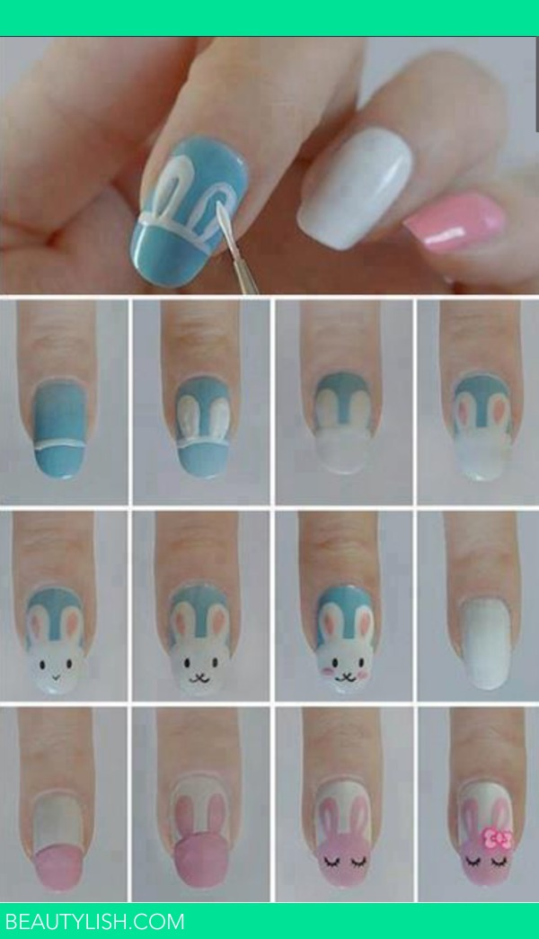Как нарисовать рисунок на ногтях своими руками в домашних условиях