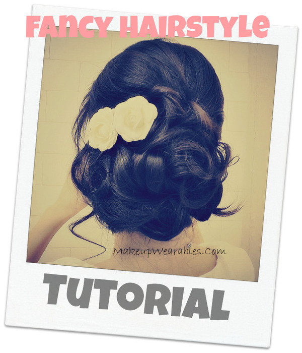 Easy prom wedding hairstyles with curls formal updos for medium long Miranda lambert s hairstyle her nine cma award nominations