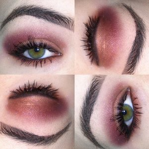 Burgundy Smokey Eyes Makeup Ideas by Trends Style