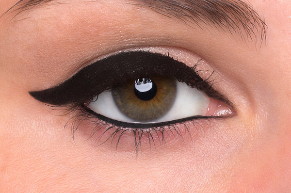 how to do winged eyeliner or cateye liner beautylish