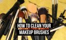 How To Clean Makeup Brushes and Sponge | Under $1