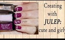Nail Designs with Julep - Cute and Girly (Episode 2)