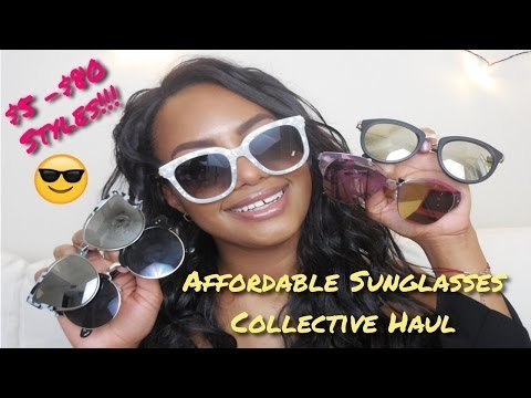42d00efb6d Affordable Sunglasses Haul