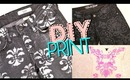 DIY Print Jeans & Top: Brocade & Damask | Styling Ideas at the End!