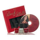 Deborah Lippmann Deck the Halls Jazz CD and Nail Lacquer Set (Holiday 2011- Limited Edition)