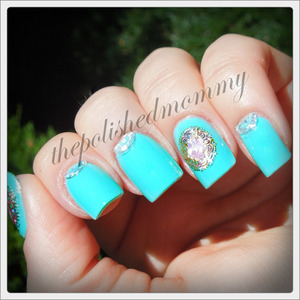 Decals available at BornPrettyStore.com, use the code NKL91 for 10% off your order. http://www.thepolishedmommy.com/2013/08/too-yacht-to-be-jeweled.html