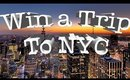 WIN A TRIP TO NEW YORK WITH ME & GWYNNIE BEE!