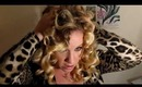 Party Make-up and Hair! Episode 1. Extravagant Golds and Curly Hair!