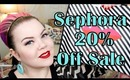 Sephora VIB 20% Off Haul