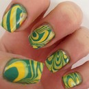 Psychedelic Water Marble