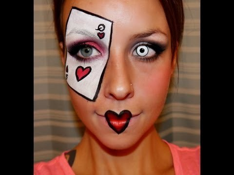 Halloween Series 2012 : Queen of Hearts makeup tutorial