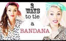 How To Tie A Bandana 2 Ways