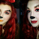 Mickey and Minnie Mouse inspired.
