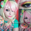 Cute Donut Makeup Kawaii Look
