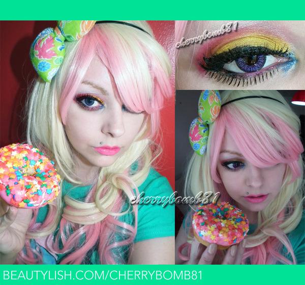 Cute Donut Makeup Kawaii Look Cherry C S Cherrybomb81