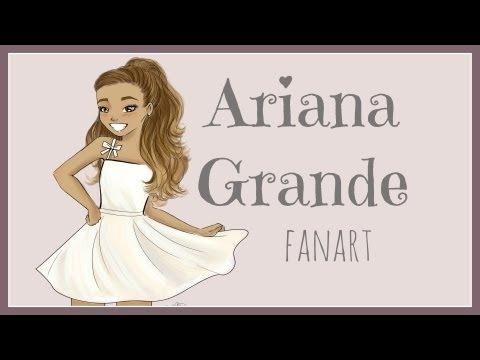 fanart drawings series ariana grande by debbyarts debbyarts
