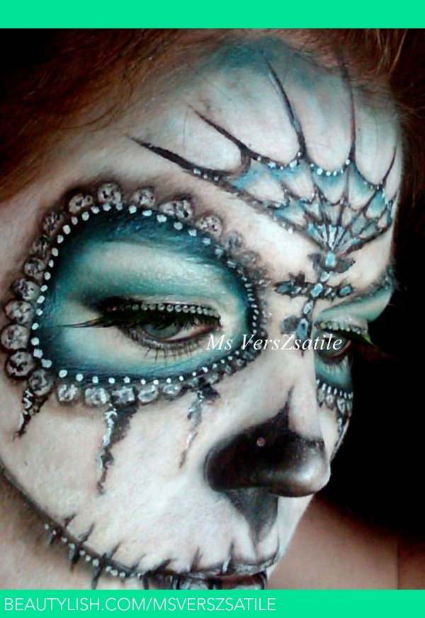 pictures 5 DIY Sugar Skull Makeup Tutorials For Halloween